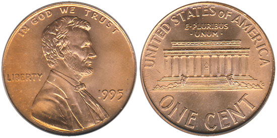 1995 Doubled Die Lincoln Cent