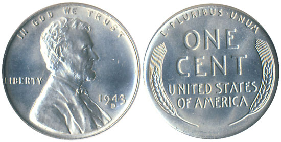1943 Steel Cent | Lincoln Steel Penny